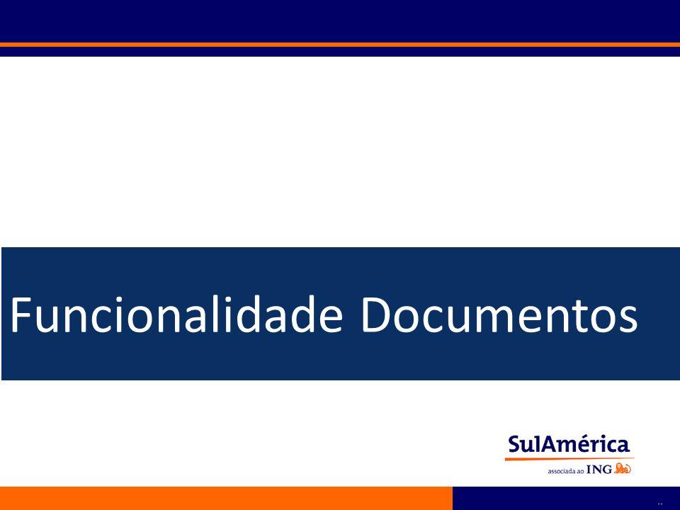 Funcionalidade Documentos
