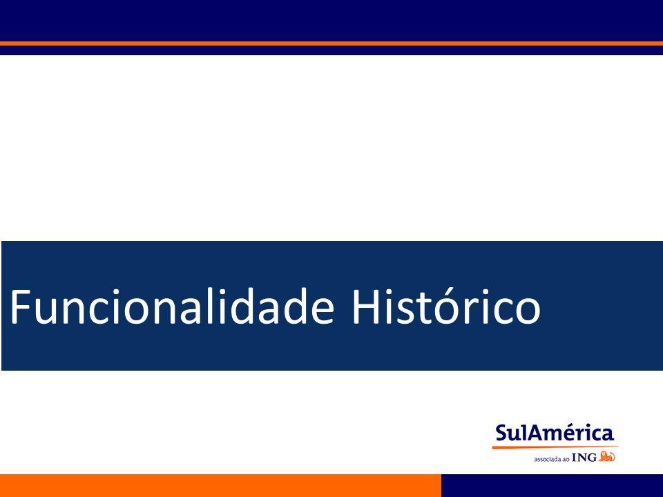 Funcionalidade Histórico