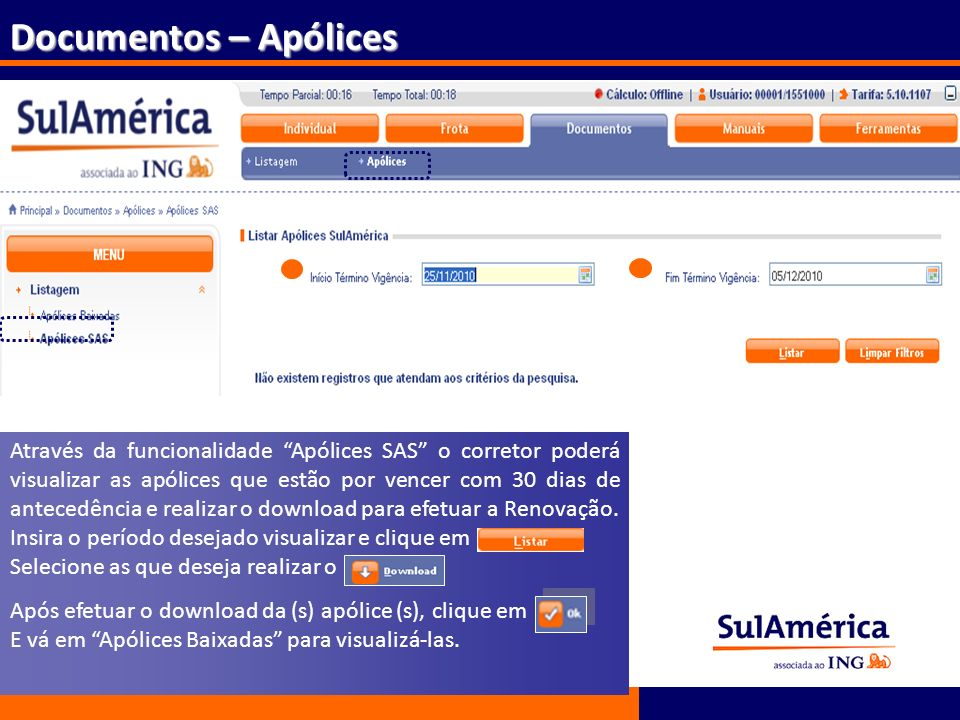 Documentos – Apólices