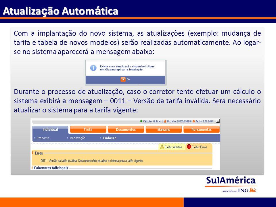 Atualização Automática