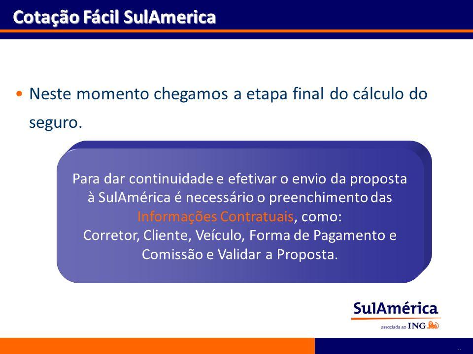 Cotação Fácil SulAmerica