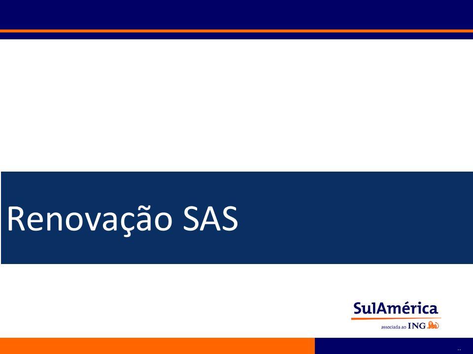 Renovação SAS