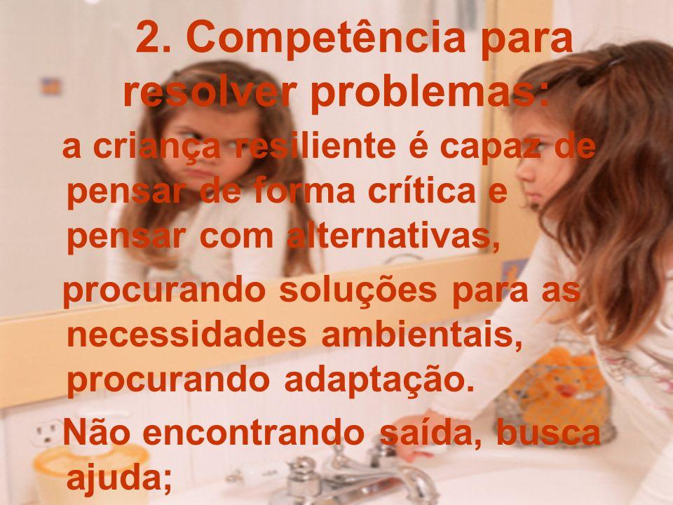 2. Competência para resolver problemas: