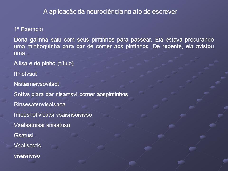 A aplicação da neurociência no ato de escrever
