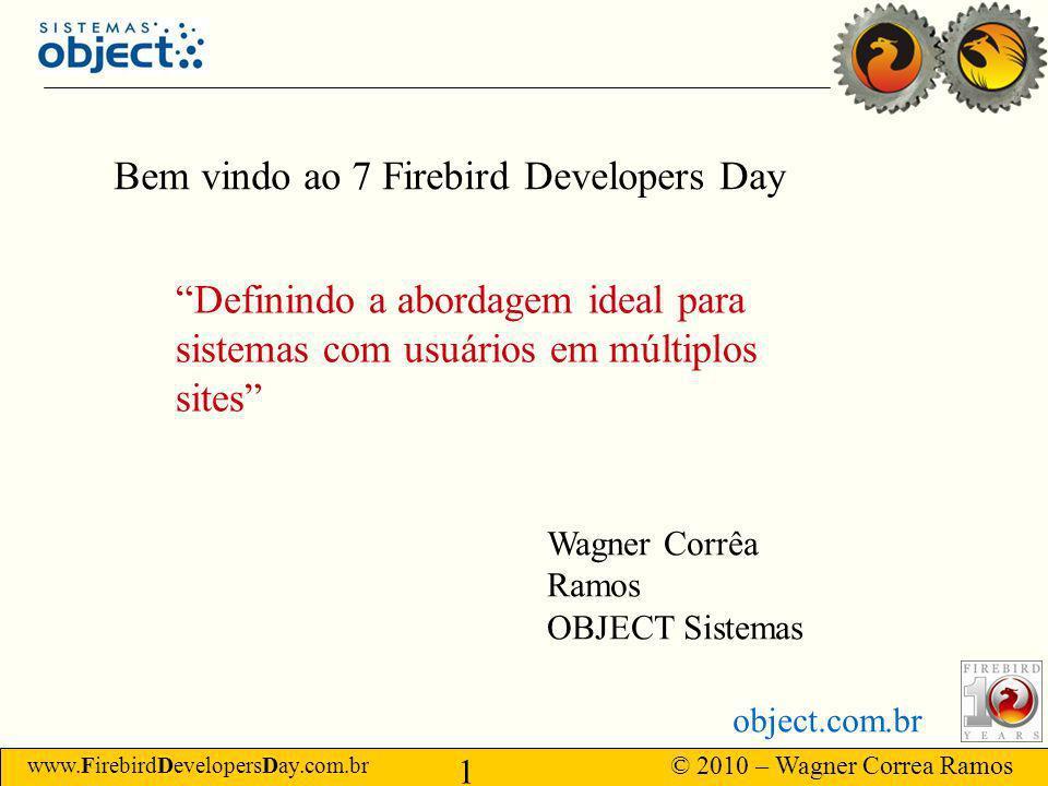 Bem vindo ao 7 Firebird Developers Day