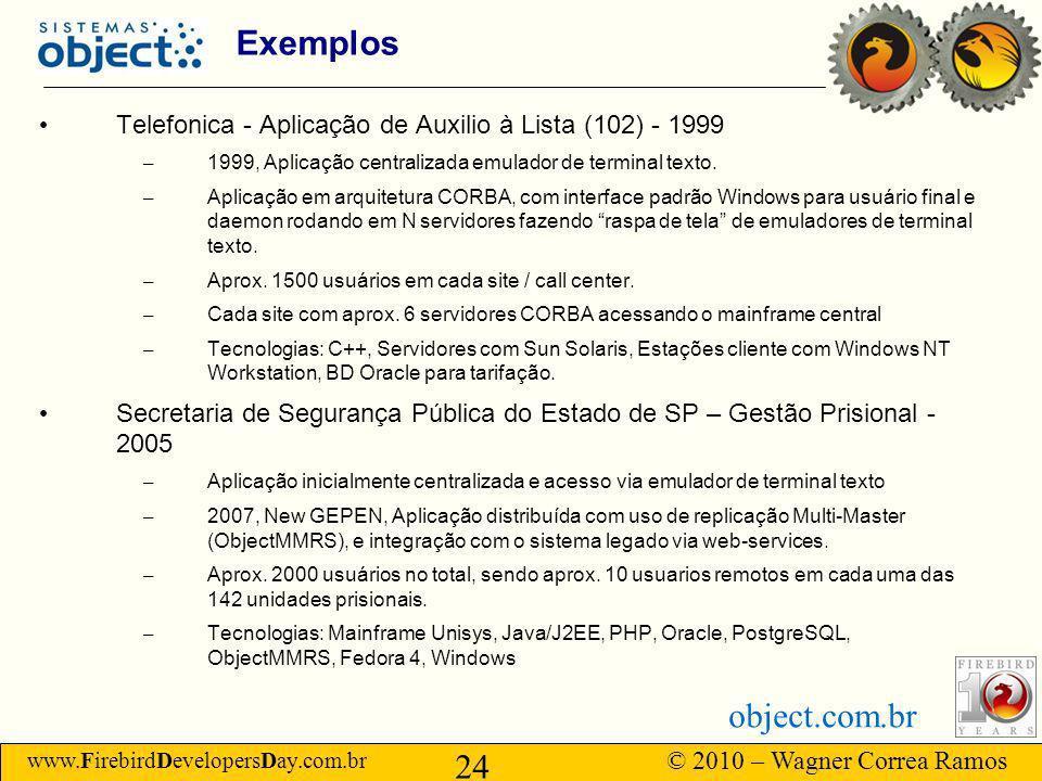 Exemplos Telefonica - Aplicação de Auxilio à Lista (102) - 1999