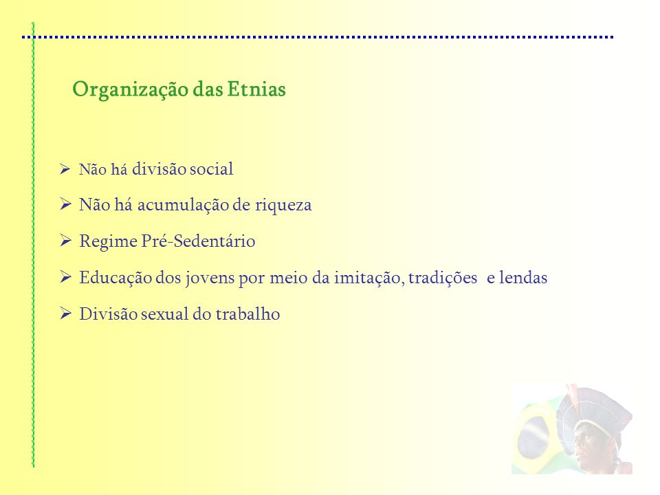 Organização das Etnias