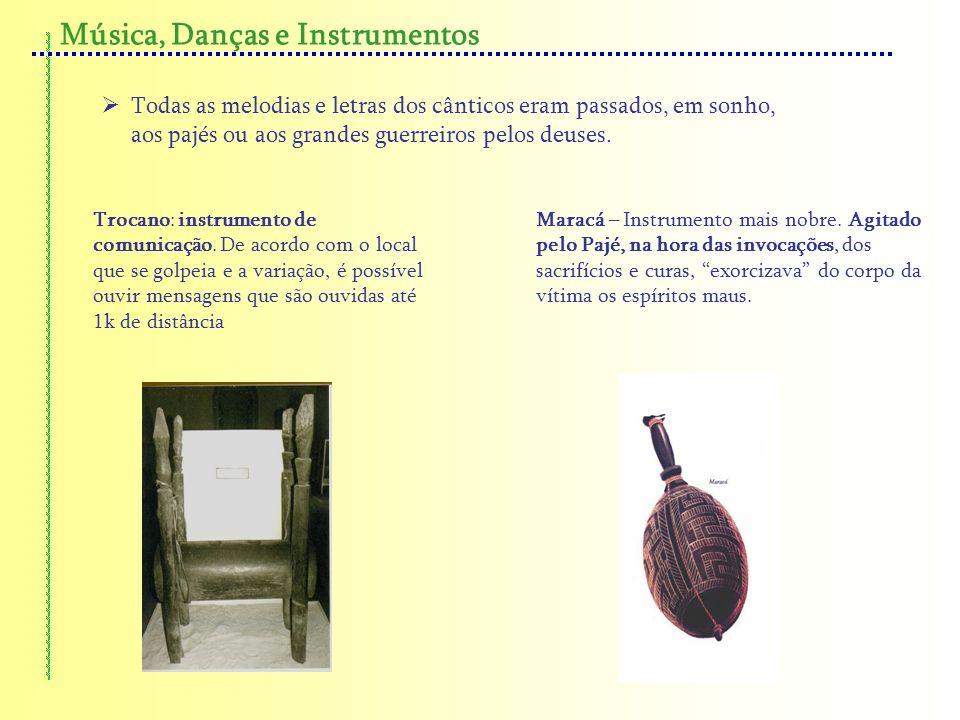 Música, Danças e Instrumentos