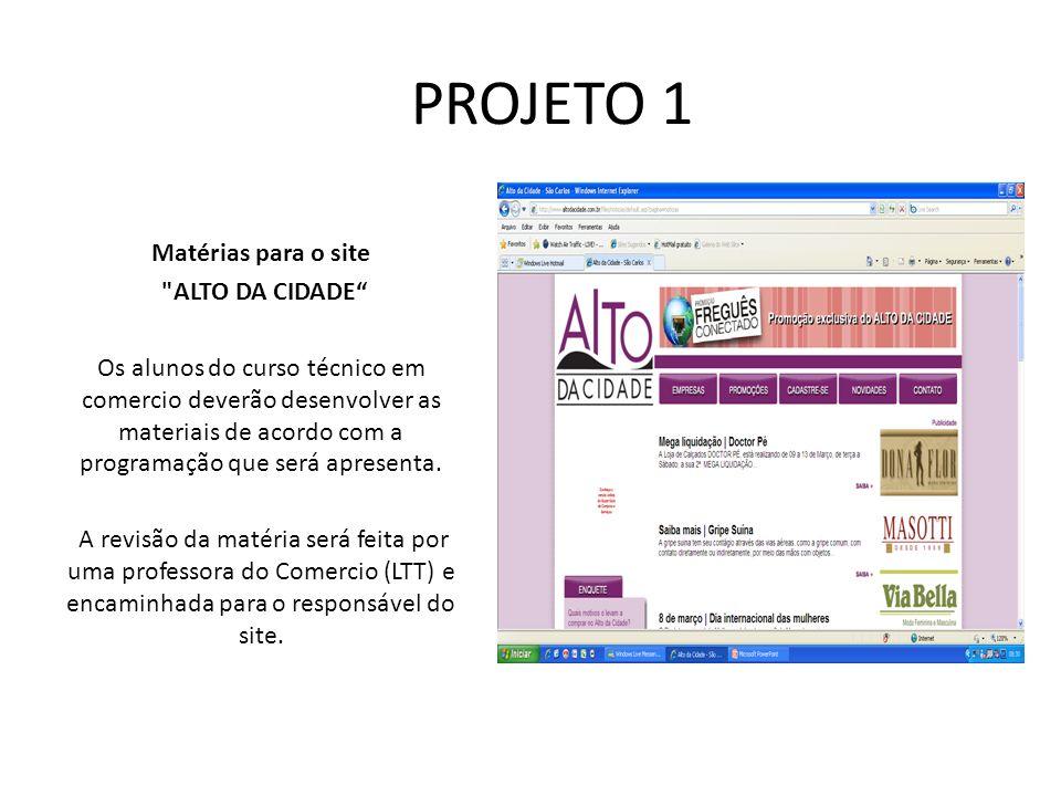 PROJETO 1 Matérias para o site ALTO DA CIDADE