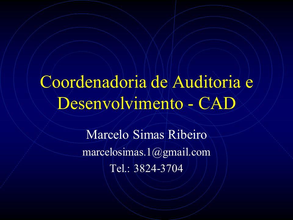 Coordenadoria de Auditoria e Desenvolvimento - CAD