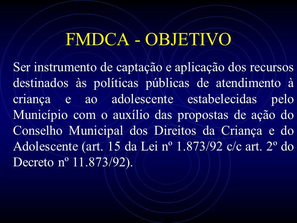 FMDCA - OBJETIVO