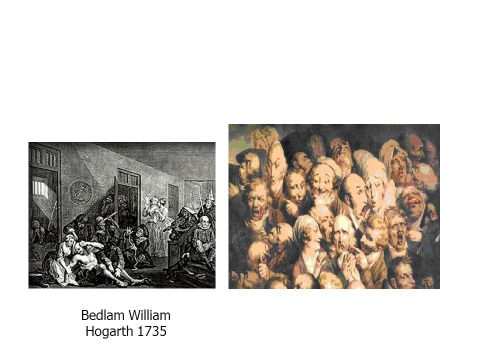 Bedlam William Hogarth 1735