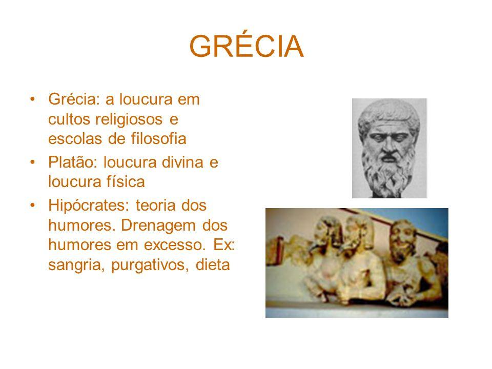 GRÉCIA Grécia: a loucura em cultos religiosos e escolas de filosofia