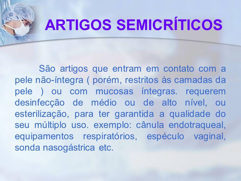 ARTIGOS SEMICRÍTICOS