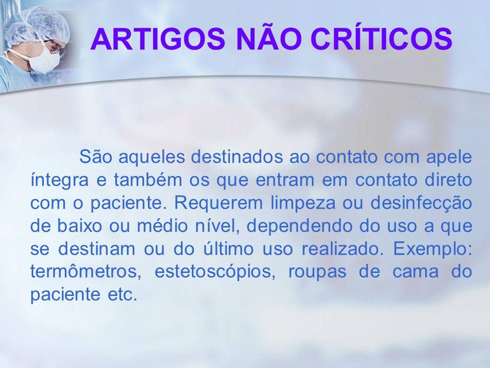 ARTIGOS NÃO CRÍTICOS