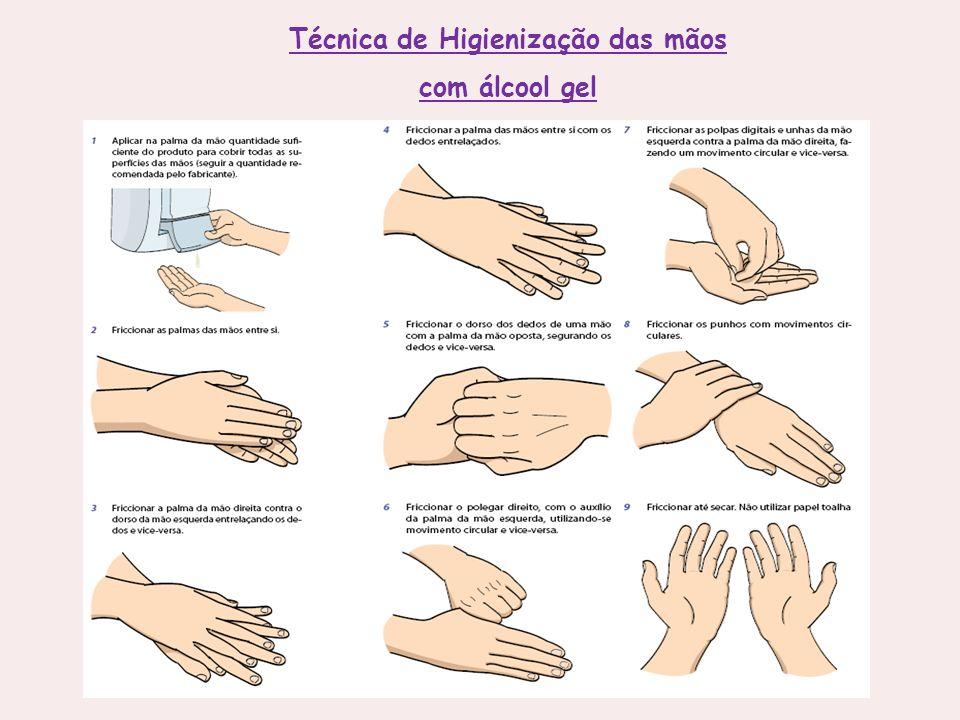 Técnica de Higienização das mãos