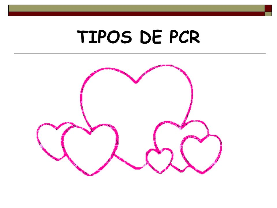 TIPOS DE PCR