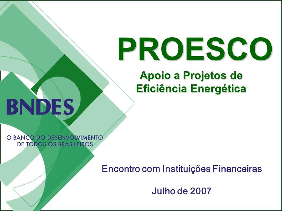 Eficiência Energética Encontro com Instituições Financeiras