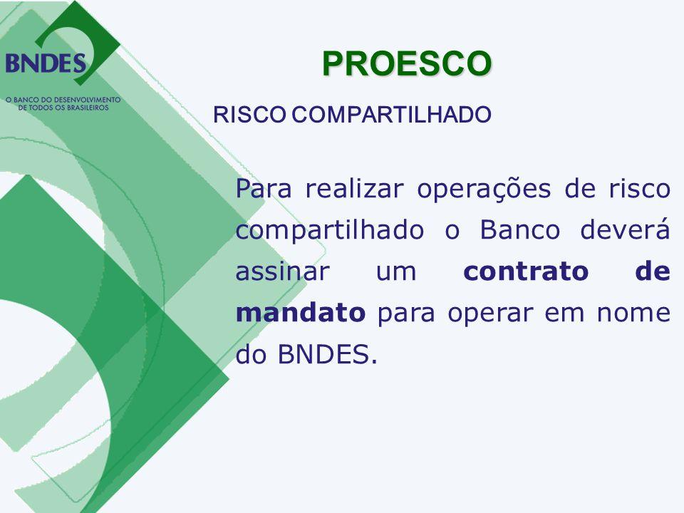 PROESCO RISCO COMPARTILHADO.