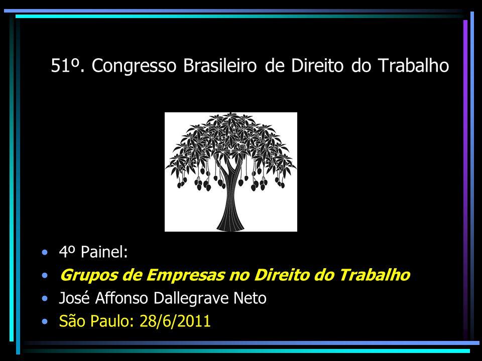 51º. Congresso Brasileiro de Direito do Trabalho