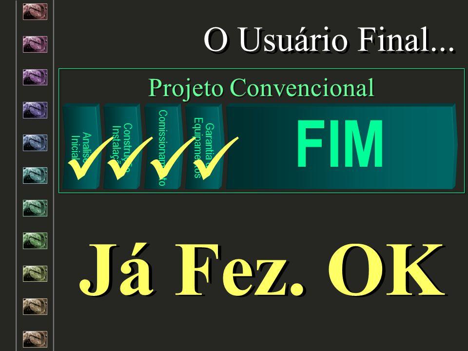 Já Fez. OK FIM O Usuário Final... Projeto Convencional Analise Inicial