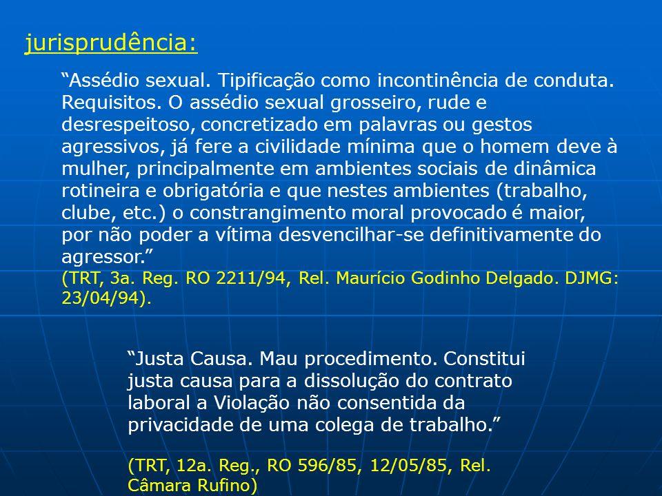 jurisprudência: