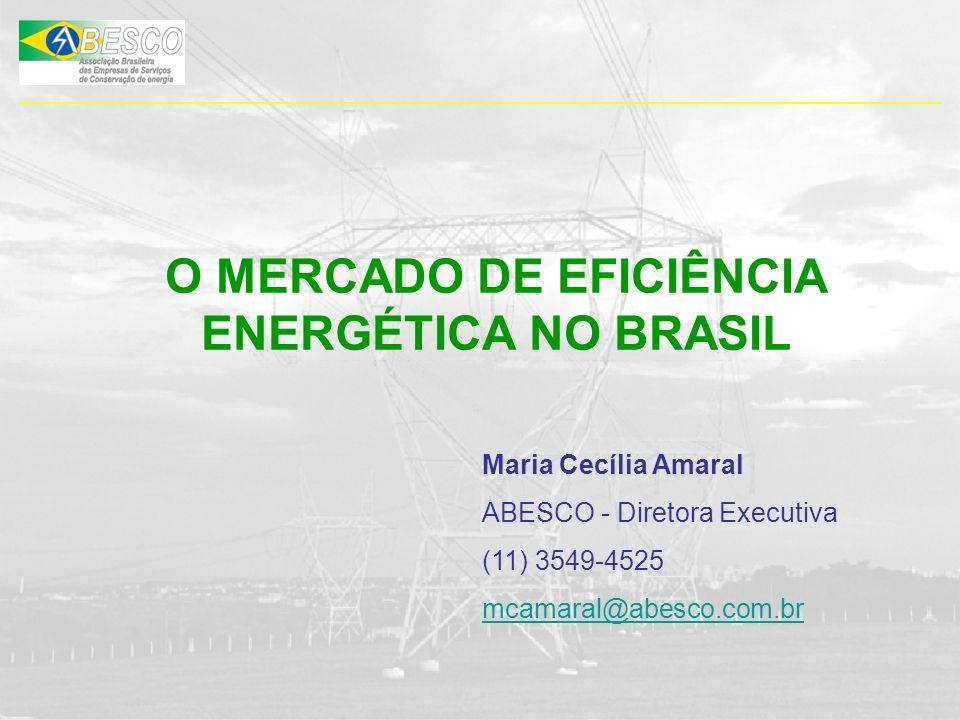 O MERCADO DE EFICIÊNCIA ENERGÉTICA NO BRASIL