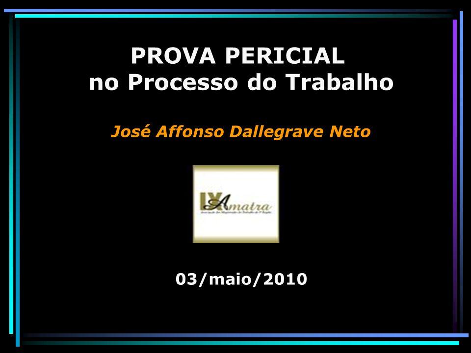 no Processo do Trabalho José Affonso Dallegrave Neto