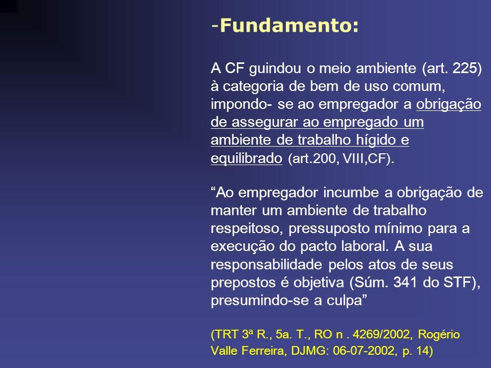 Fundamento: