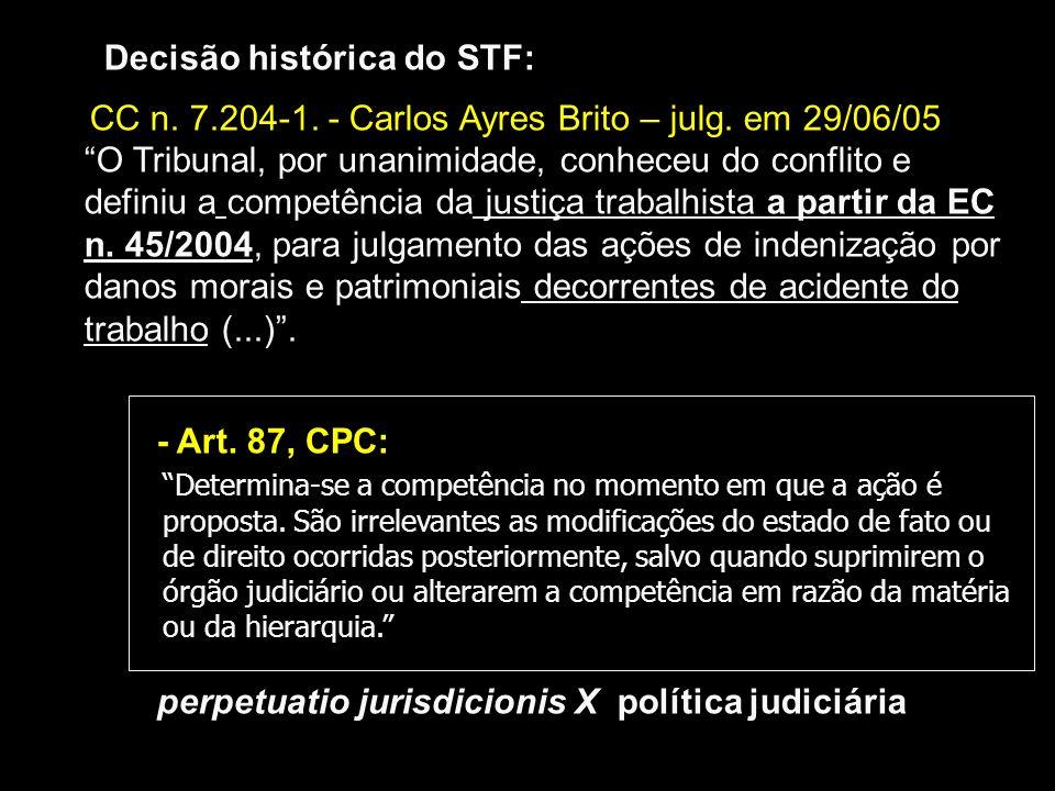 Decisão histórica do STF: