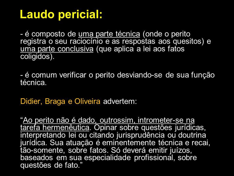 Laudo pericial: