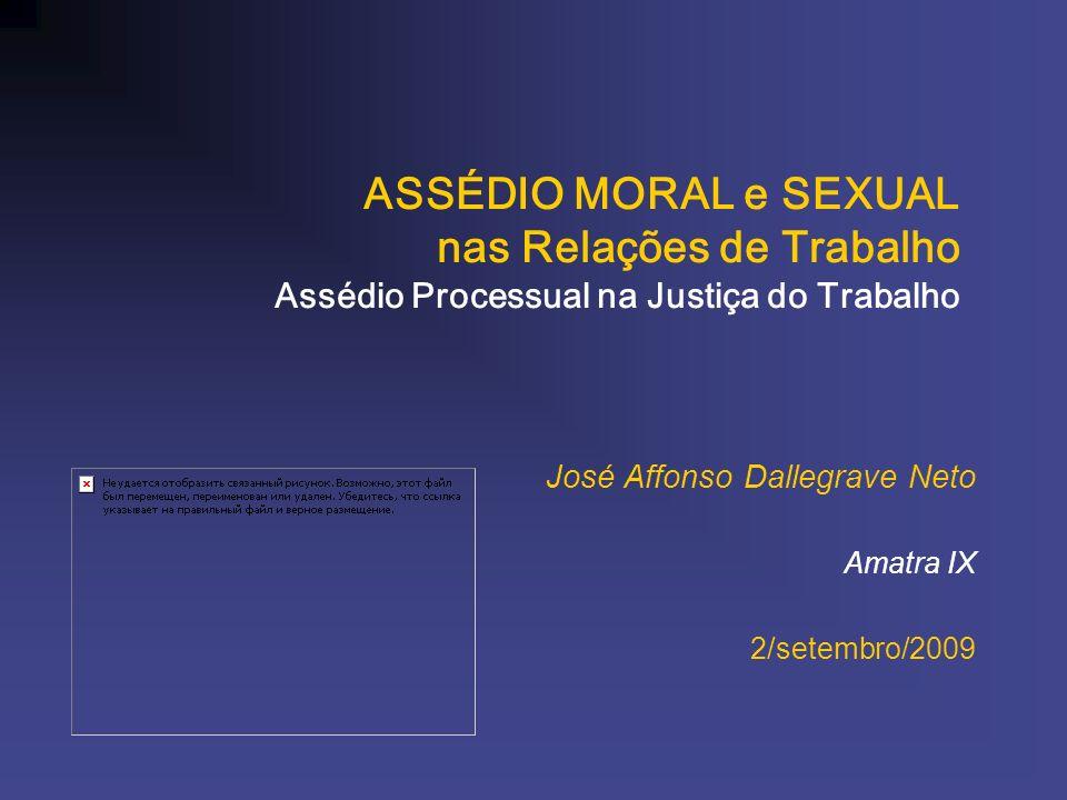 José Affonso Dallegrave Neto Amatra IX 2/setembro/2009