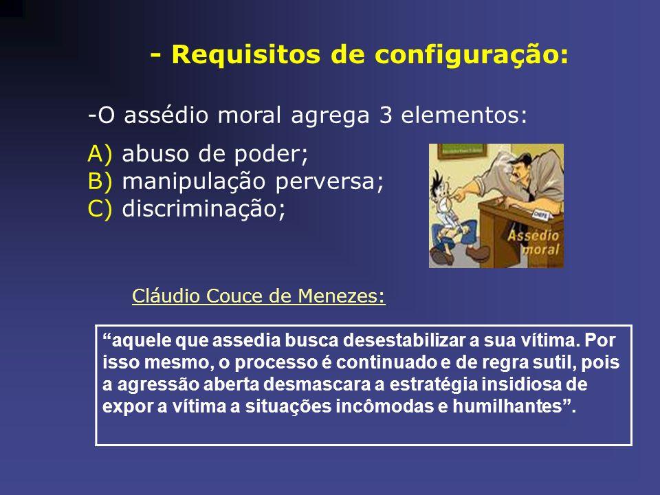 - Requisitos de configuração: