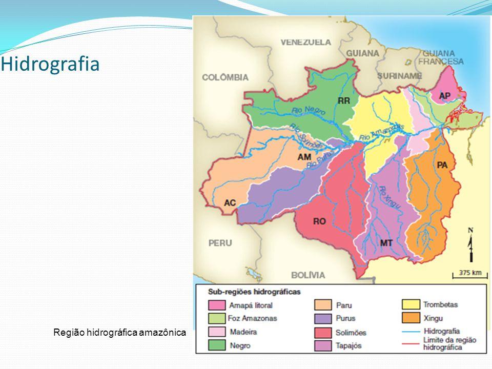 Hidrografia Região hidrográfica amazônica