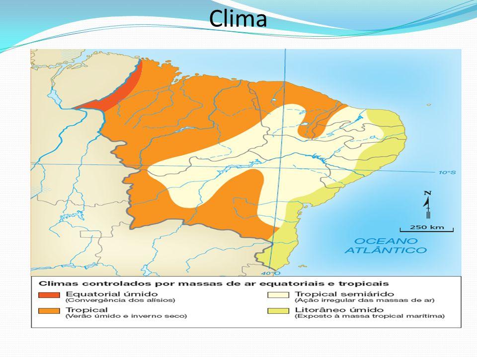 Clima Professor: a escala indicada se refere ao mapa impresso no módulo.