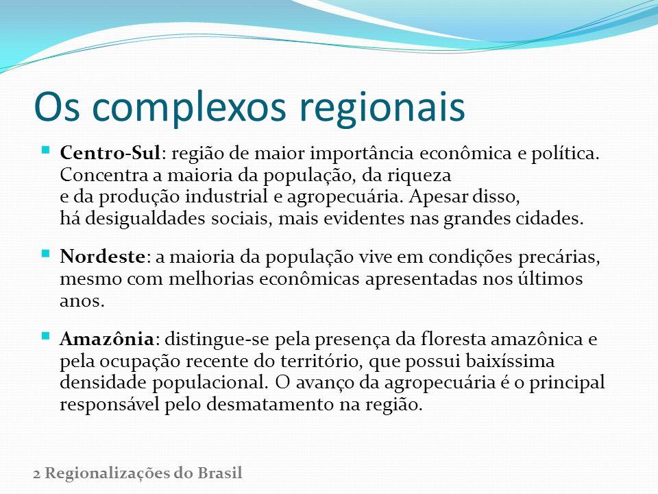 Os complexos regionais