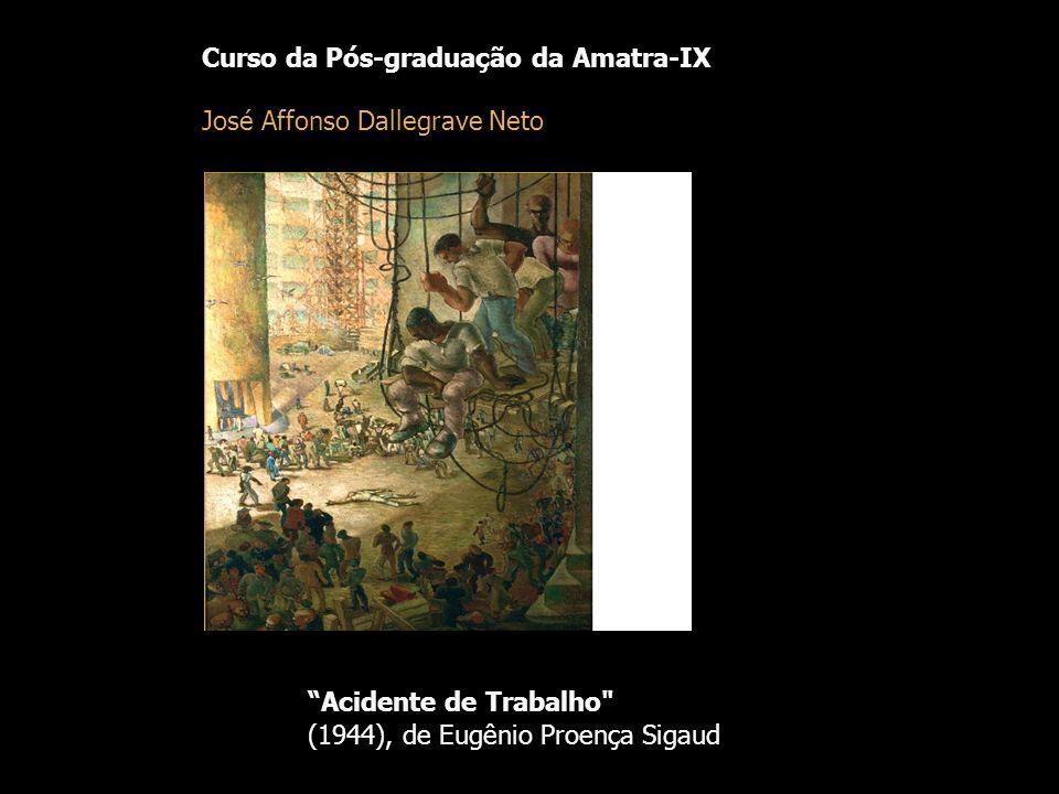 Acidente de Trabalho Curso da Pós-graduação da Amatra-IX