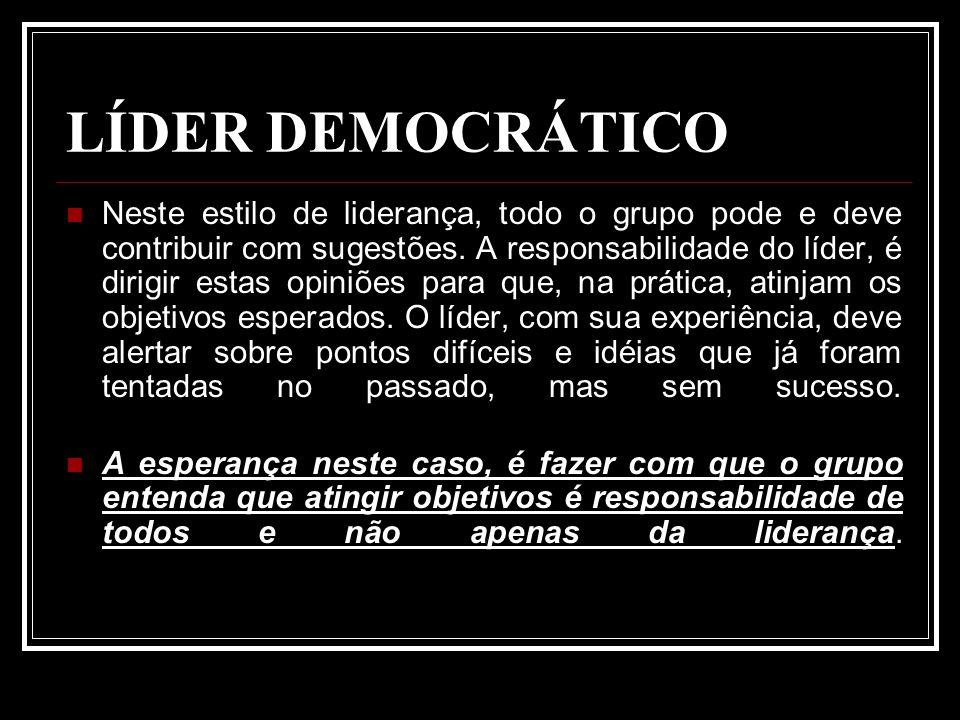 LÍDER DEMOCRÁTICO