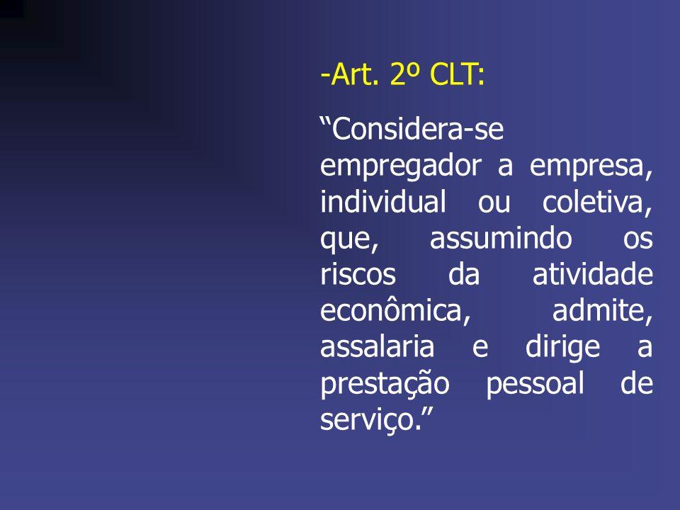 Art. 2º CLT: