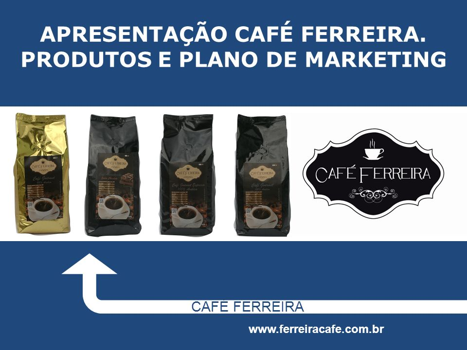 APRESENTAÇÃO CAFÉ FERREIRA. PRODUTOS E PLANO DE MARKETING