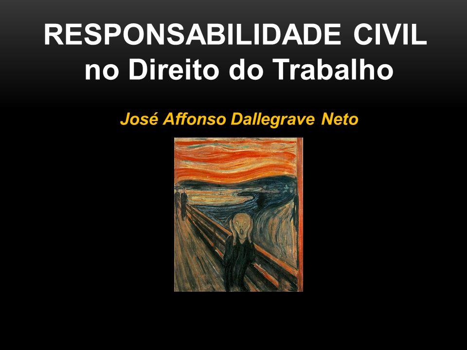 RESPONSABILIDADE CIVIL José Affonso Dallegrave Neto
