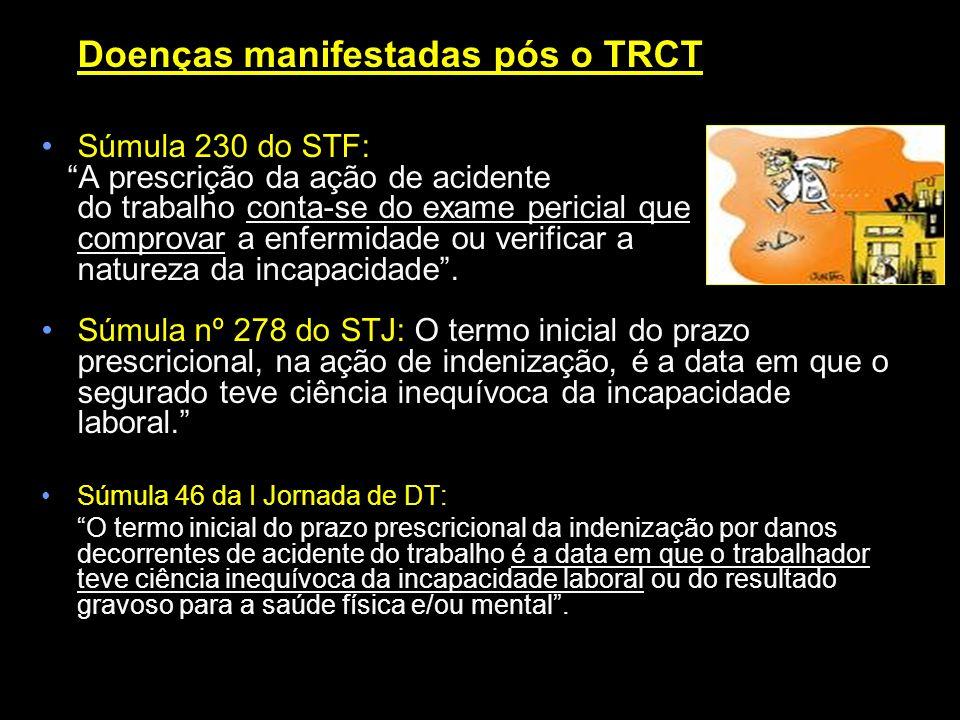 Doenças manifestadas pós o TRCT