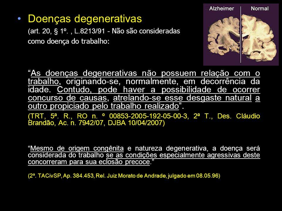 Doenças degenerativas