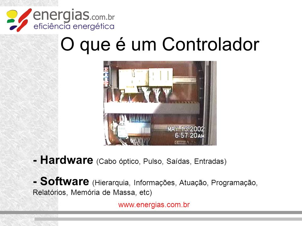 O que é um Controlador - Hardware (Cabo óptico, Pulso, Saídas, Entradas)