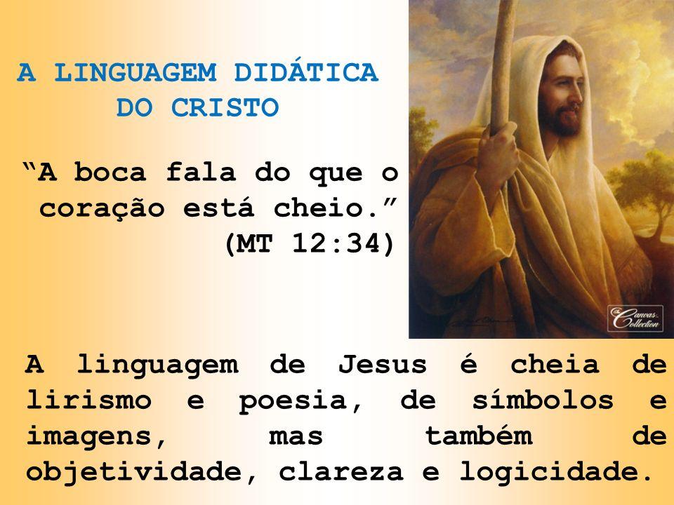 A LINGUAGEM DIDÁTICA DO CRISTO