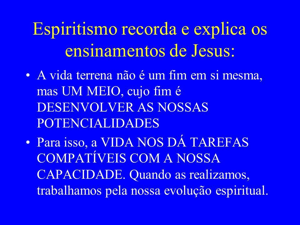 Espiritismo recorda e explica os ensinamentos de Jesus:
