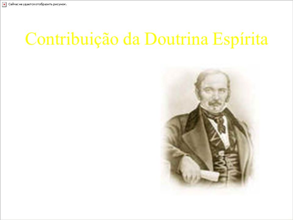 Contribuição da Doutrina Espírita