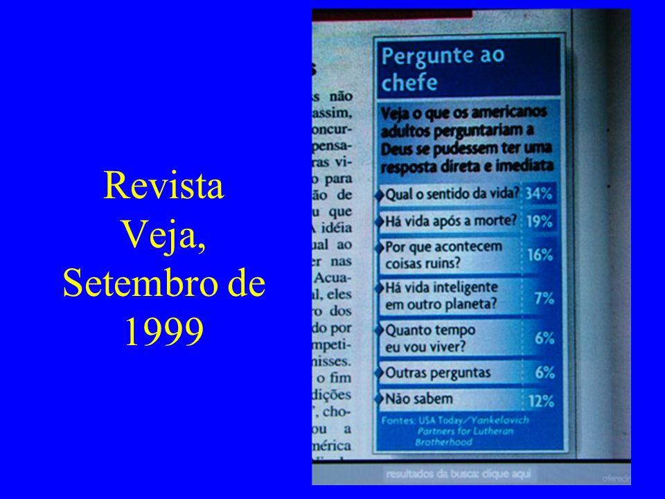 Revista Veja, Setembro de 1999