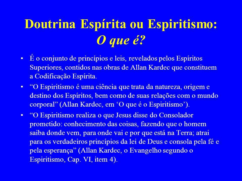 Doutrina Espírita ou Espiritismo: O que é