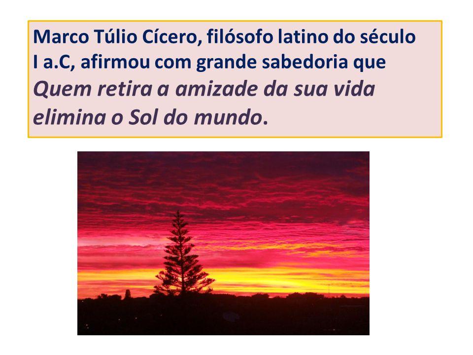 Marco Túlio Cícero, filósofo latino do século I a